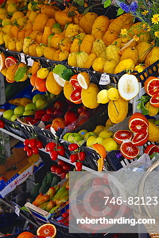 Agrumi, Citruses, Sicily, Italy, Europe