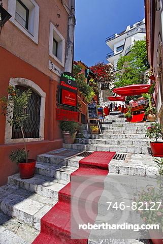 old town, Taormina, Sicily, Italy, Europe