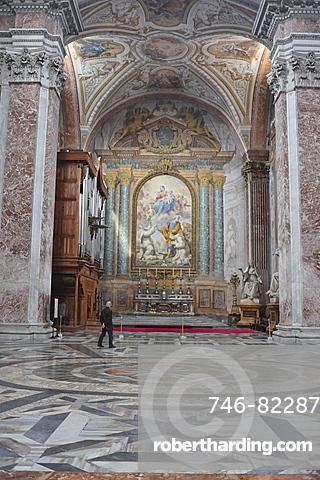 Rome. Italy. Europe. Basilica Santa Maria degli Angeli.