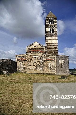 Sa Saccargia church, Cordongianus, Sardinia, Italy, Europe