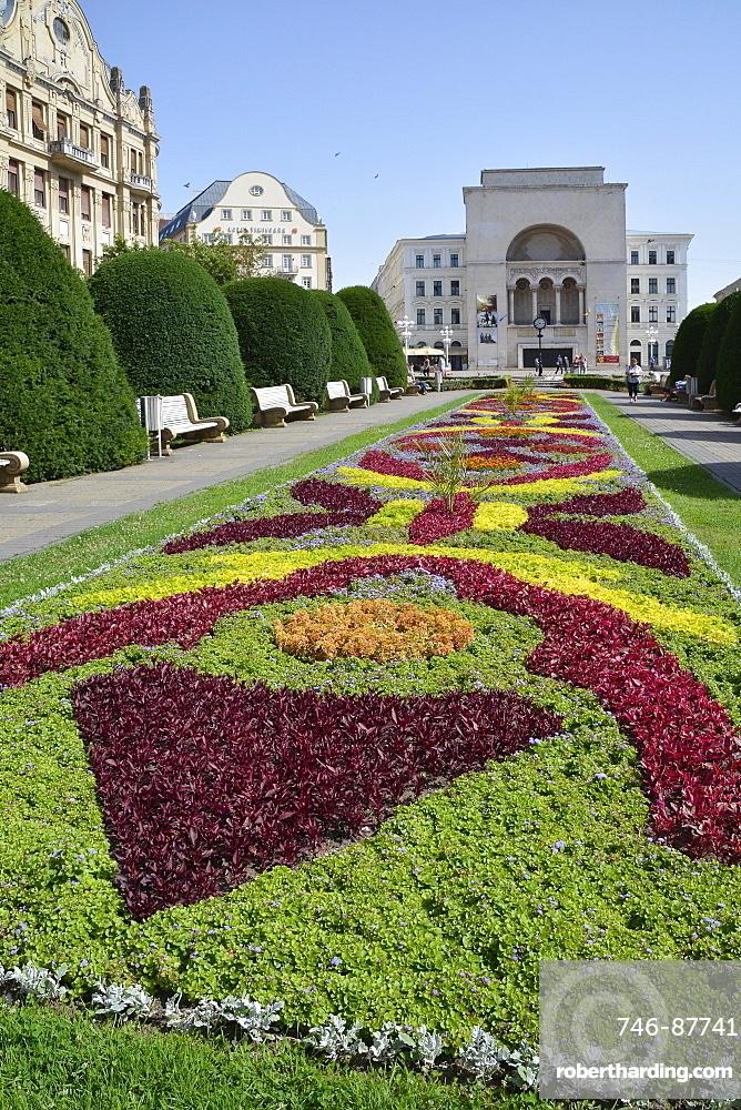 Piata Victoriei, Victoriei Square, Timisoara, Banato, Romania, Europa