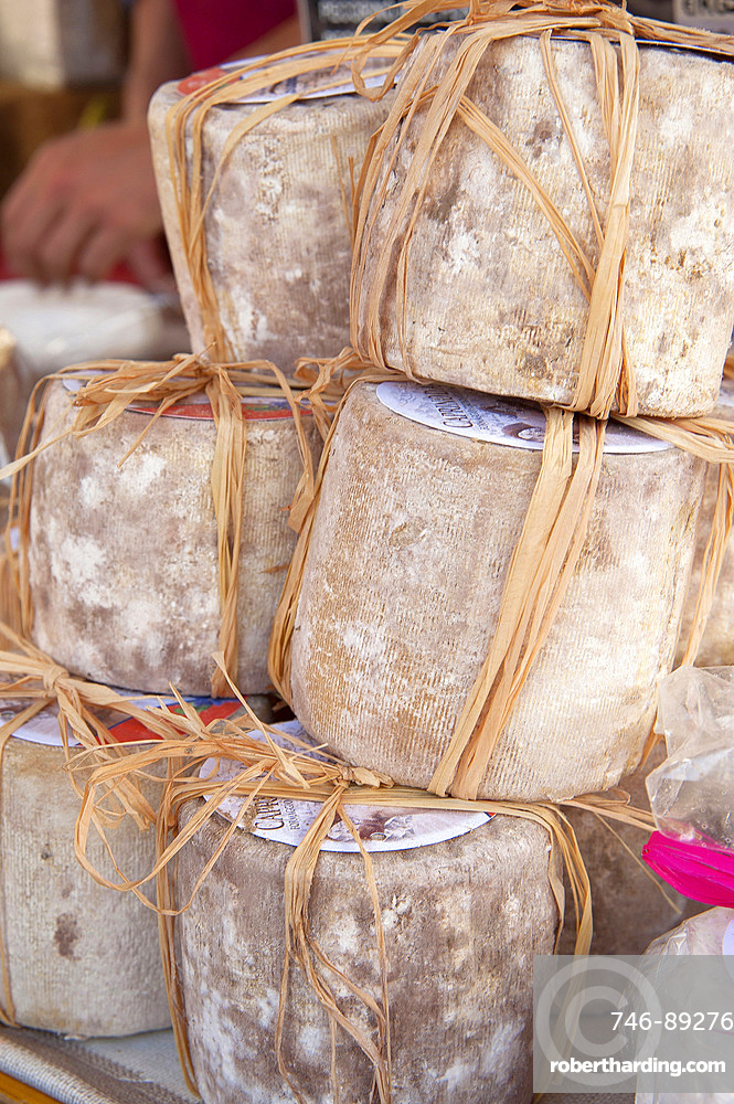 Typical Goat Cheese, Factory La Poiana, Castemagno, Cuneo, Piedmont, Italy, Europe