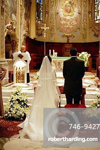 Wedding ceremony, Italy