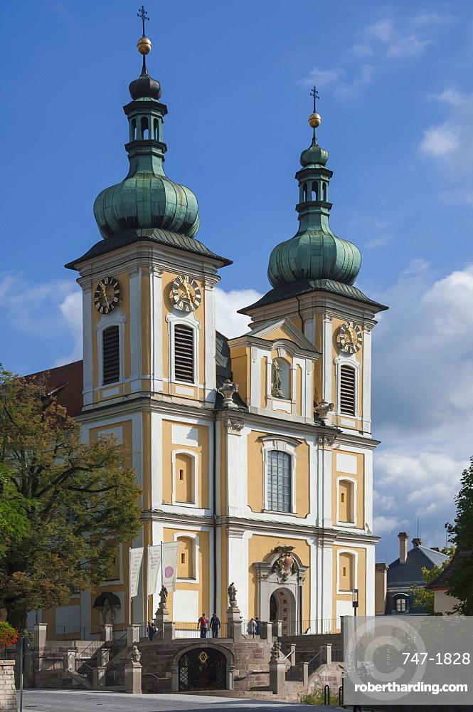 The St. Johann Kirke, Donauschingen, Black Forest, Baden-Wurttemberg, Germany, Europe