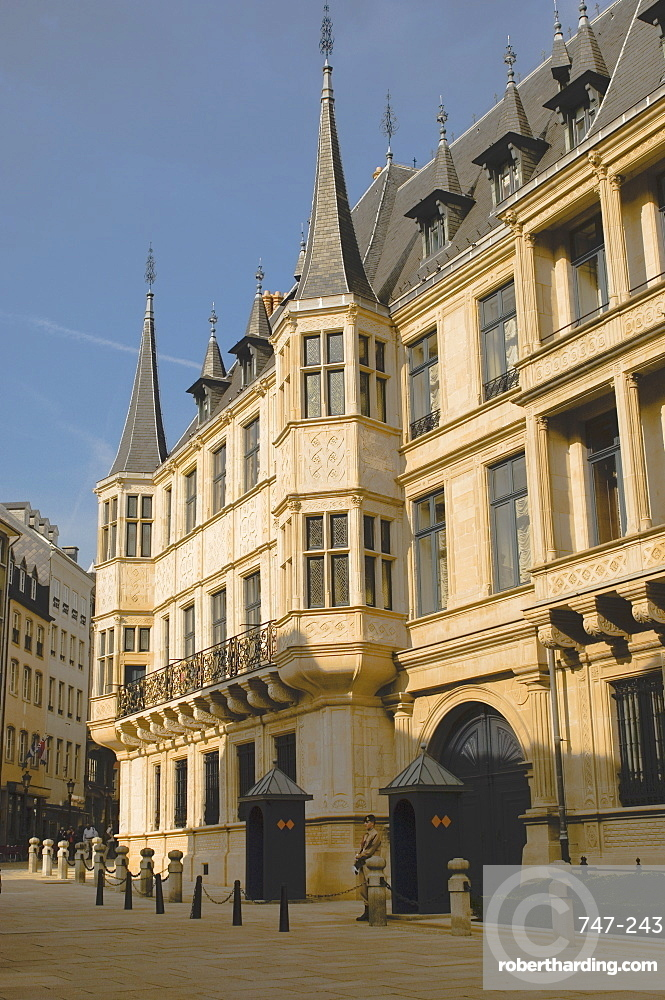 The Royal Palace, Luxembourg, Europe