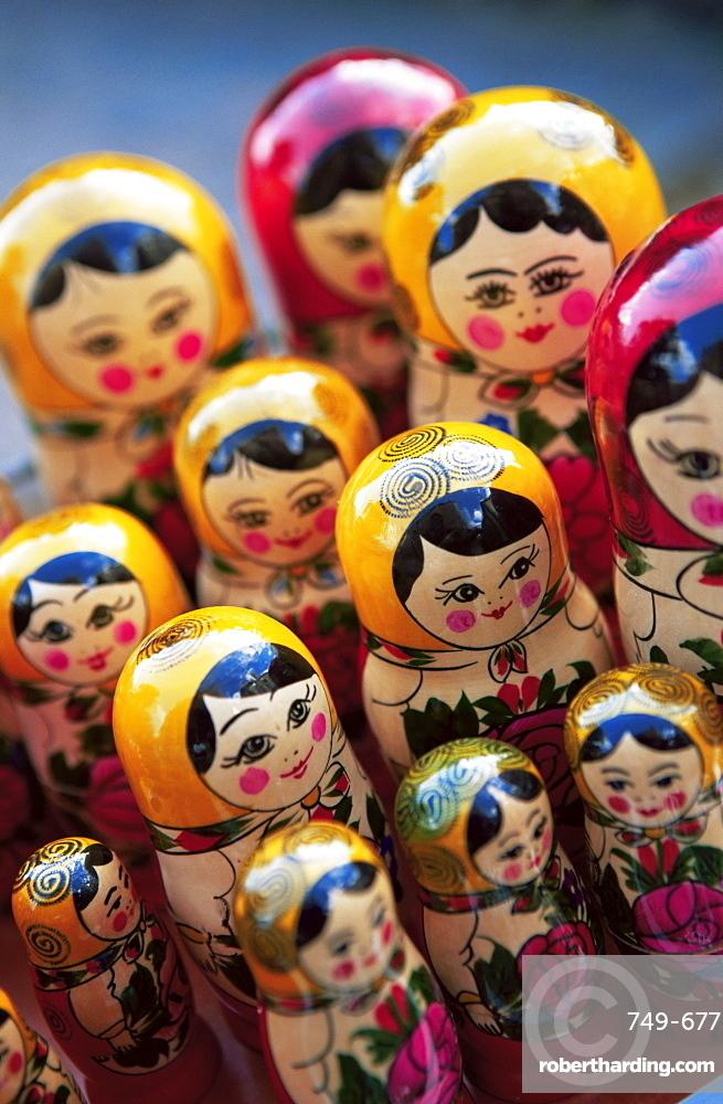 Babushka dolls, Riga, Latvia, Baltic States, Europe