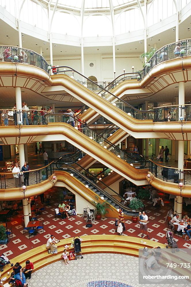 Princes Square shopping mall, Buchanan Street, Glasgow, Scotland, United Kingdom, Europe