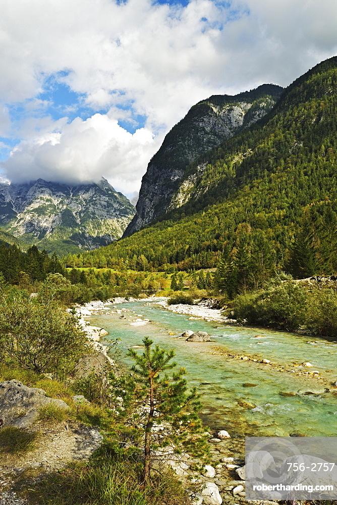 Soca River, Soca Valley, Slovenia, Europe