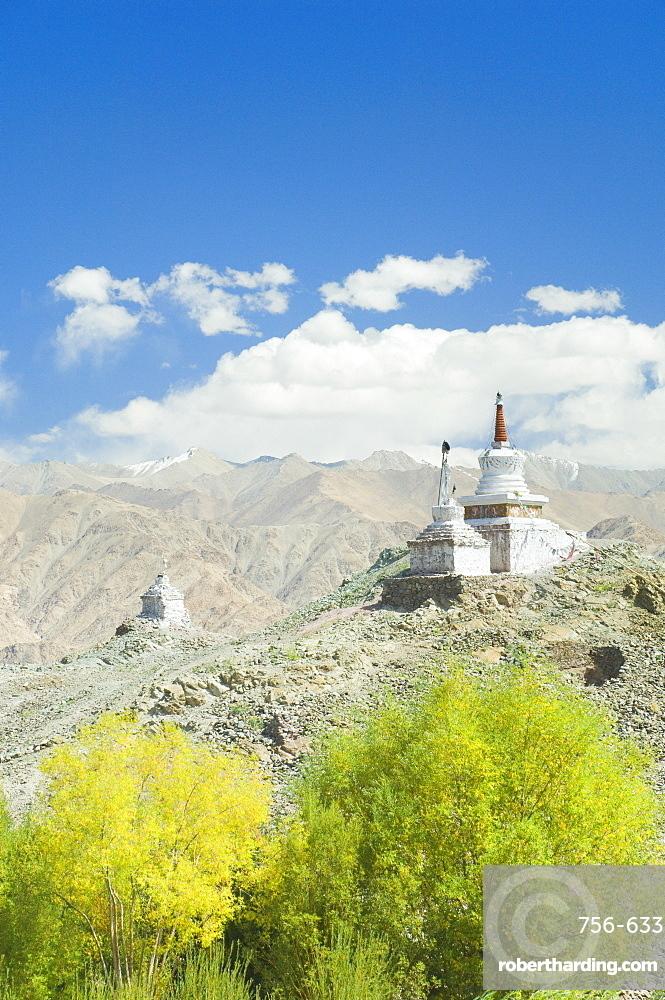 Chorten, Indus Valley, Ladakh, Indian Himalayas, India, Asia