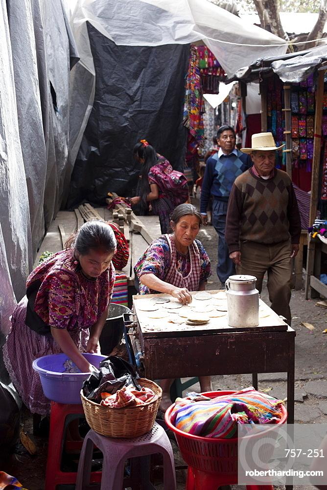Market, Chichicastenango, Guatemala, Central America