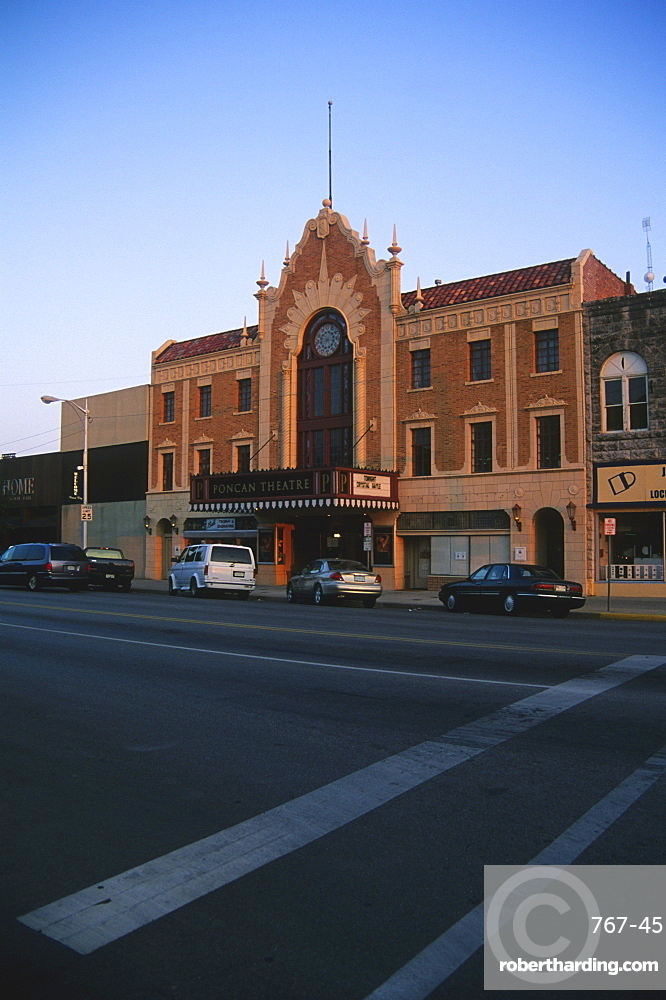 Poncan Theatre, Ponca City, Oklahoma, United States of America, North America