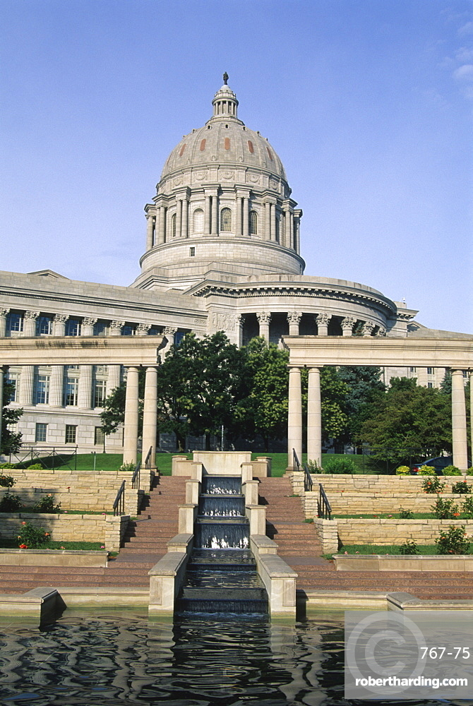 Missouri State Capitol, Jefferson City, Missouri, United States of America, North America