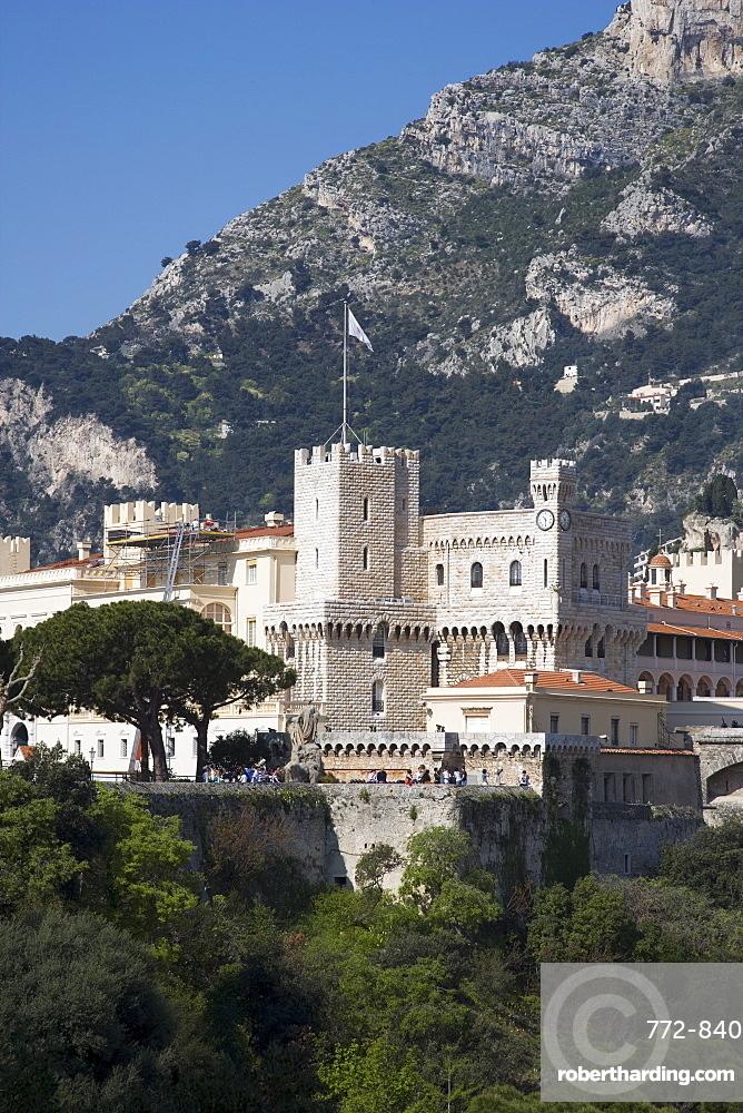 The Royal Palace, Monaco, Cote d'Azur, Europe