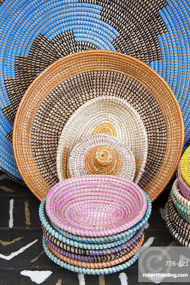Local crafts, Willemstad, Curacao, Netherlands Antilles, West Indies, Caribbean, Central America