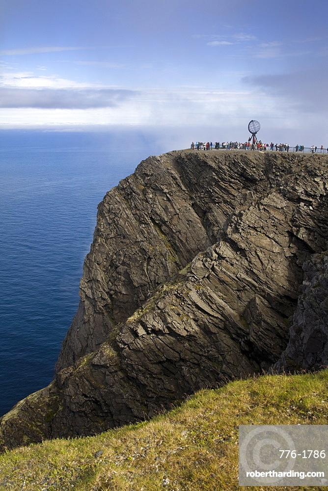 North Cape, Honningsvag Port, Mageroya Island, Finnmark Region, Arctic Ocean, Norway, Scandinavia, Europe