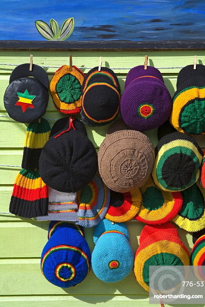 Craft market, Montego Bay, Jamaica, West Indies, Caribbean, Central America
