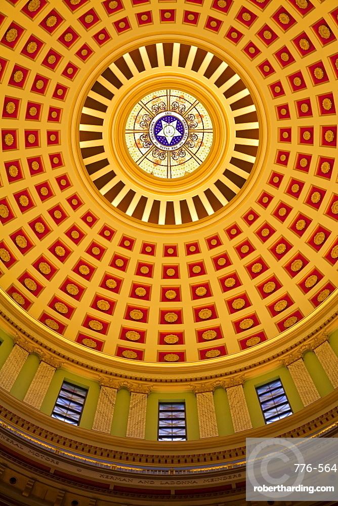 Rotunda, State Capitol Building, Oklahoma City, Oklahoma, United States of America, North America