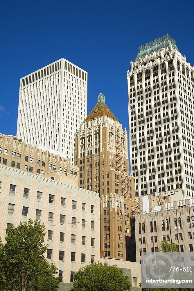 Downtown Tulsa, Oklahoma, United States of America, North America