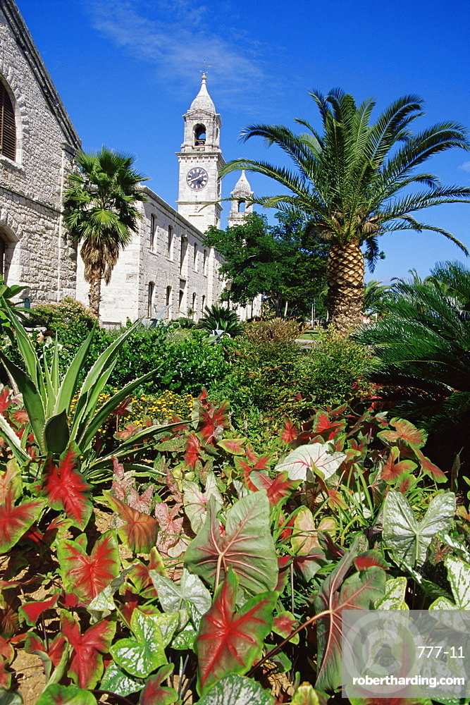 Clock Tower, Royal Naval Dockyard, Sandys Parish, Bermuda, Central America