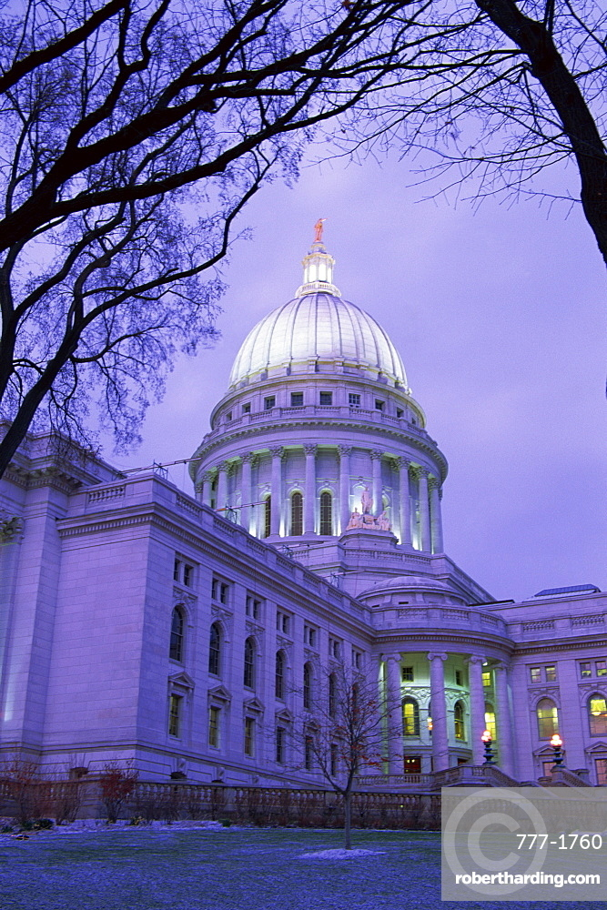 State Capitol Building, Madison, Wisconsin, United States of America, North America