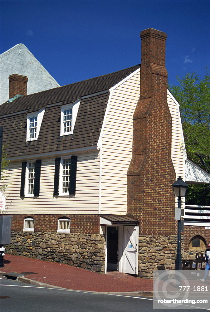 Historic Ramsey House, Old Town, Alexandria, Virginia, United States of America, North America