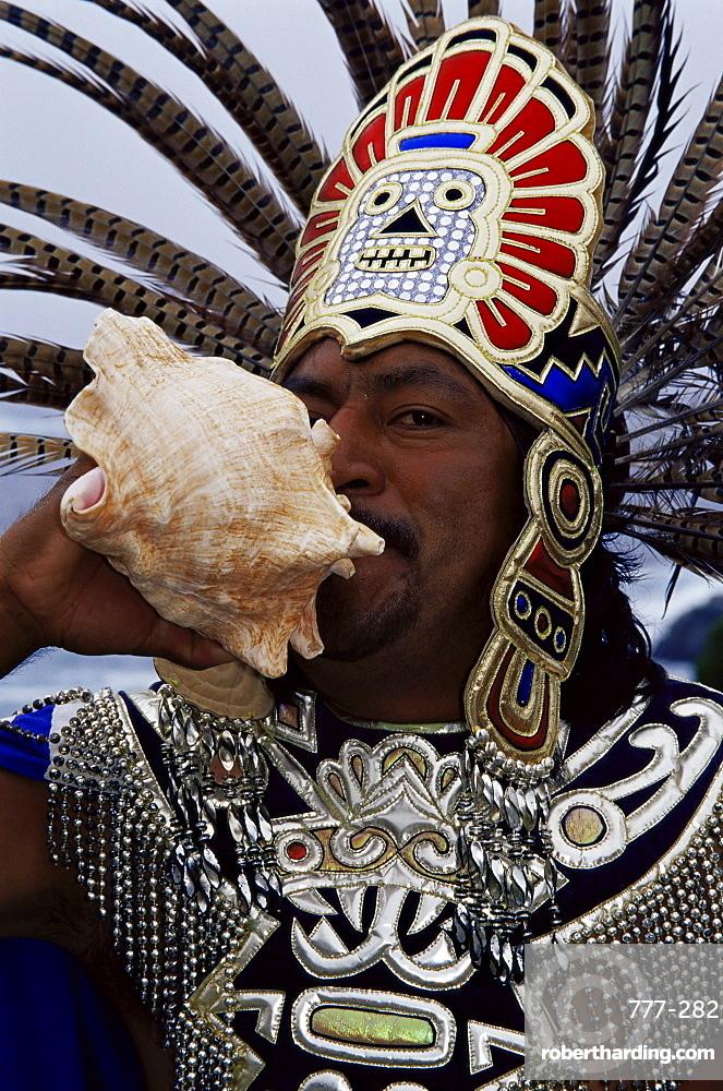 Aztec warrior, Ensenada City, Baja California North, Mexico, North America