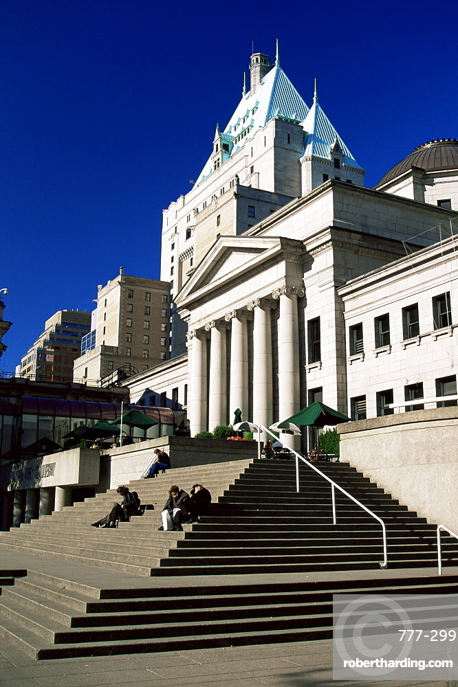 Art Gallery, Vancouver, British Columbia, Canada, North America