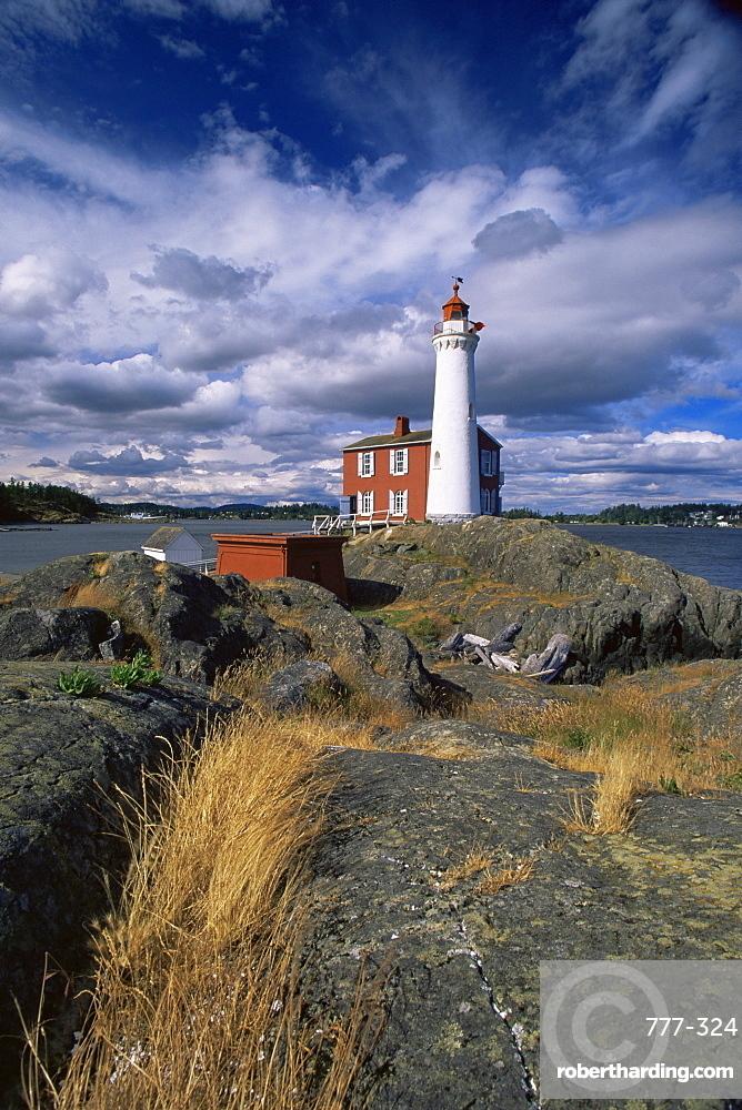 Fisgard Lighthouse National Historic Site, Victoria, British Columbia, Canada, North America