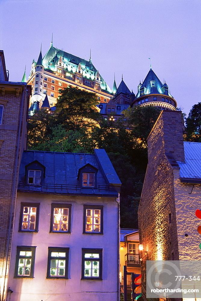 Old port area, Quebec City, Quebec state, Canada, North America