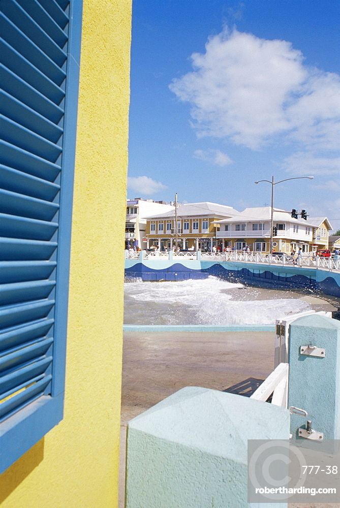 Georgetown waterfront, Grand Cayman Island, West Indies, Caribbean, Central America