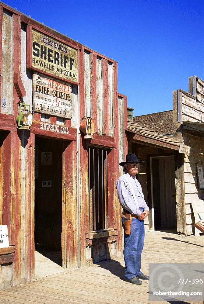 Rawhide, Wild West town near Scottsdale, Phoenix area, Arizona, United States of America, North America