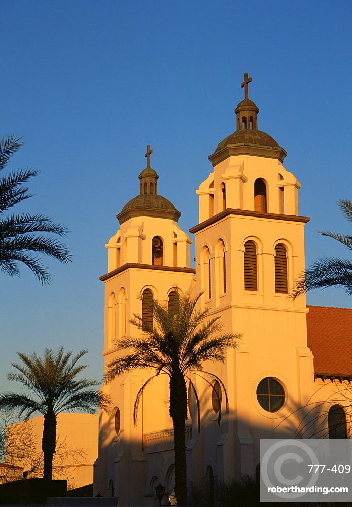 St. Mary's basilica, Downtown, Phoenix, Arizona, United States of America, North America
