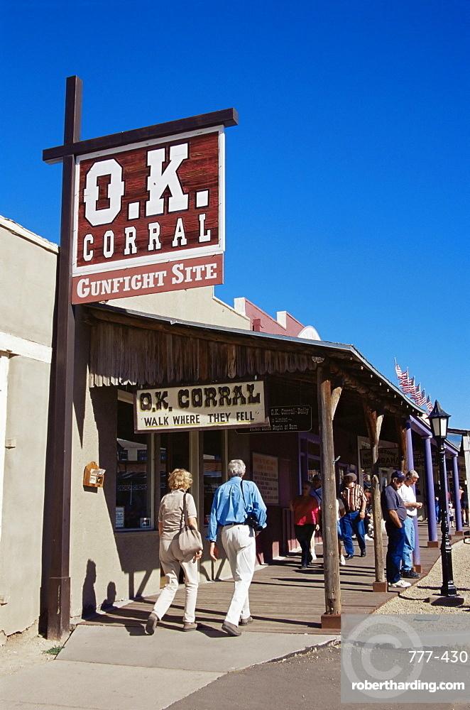 O.K. Corral, Tombstone, Arizona, United States of America, North America