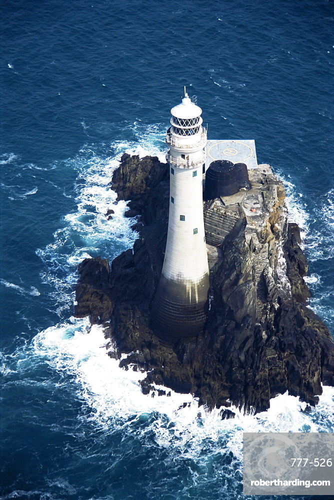 Fastnet Rock lighthouse, County Cork, Munster, Republic of Ireland, Europe