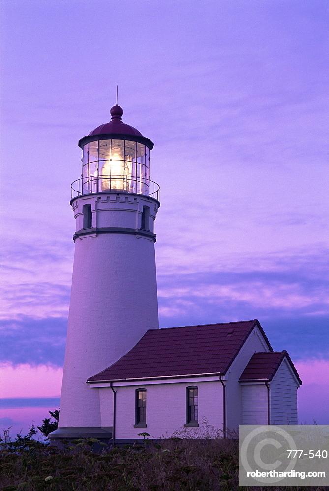 Cape Blanco lighthouse, Port Orford, Oregon, United States of America, North America