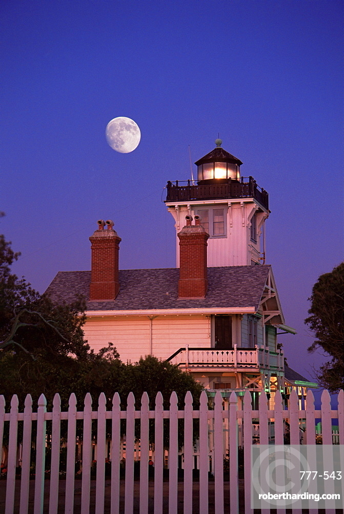 Point Fermin lighthouse, San Pedro, Los Angeles, California, United States of America, North America