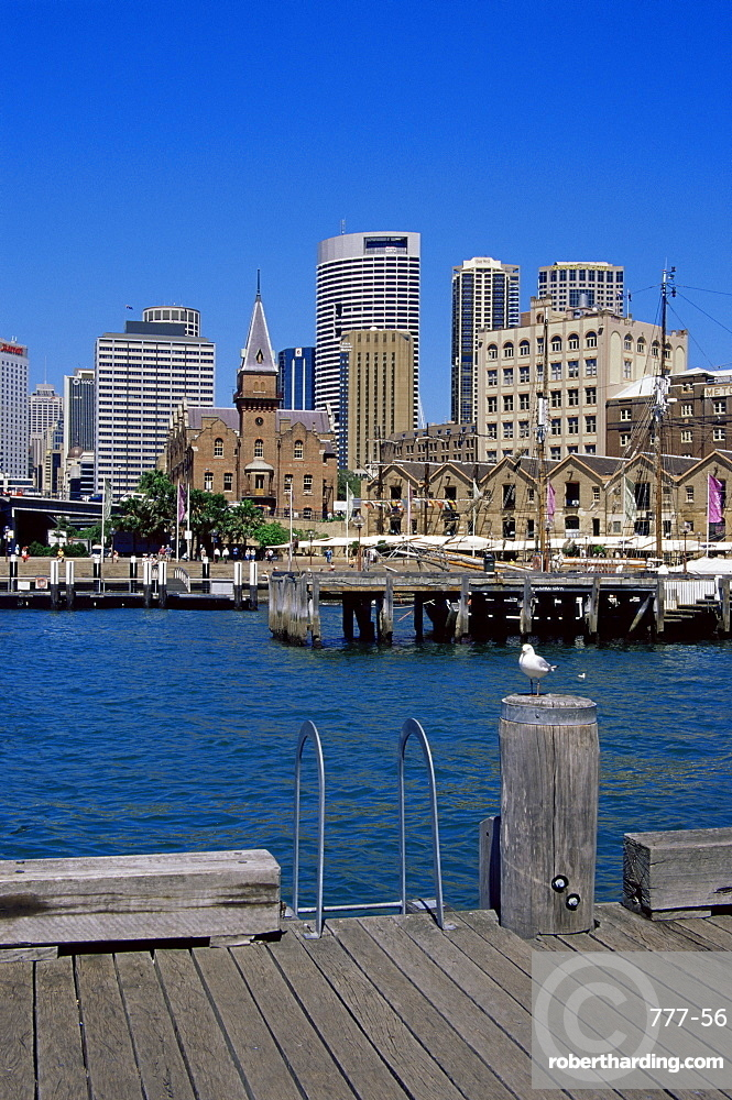 The historic Rocks area, Sydney, New South Wales, Australia, Pacific