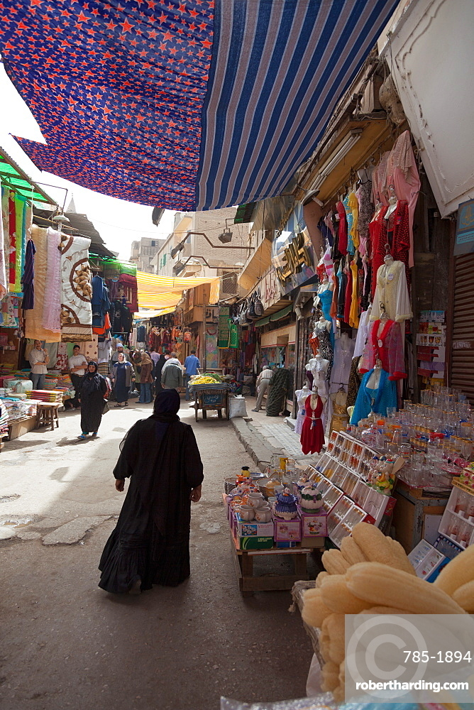 Traditional shops in Old City, Cairo, Egypt, North Africa, Africa