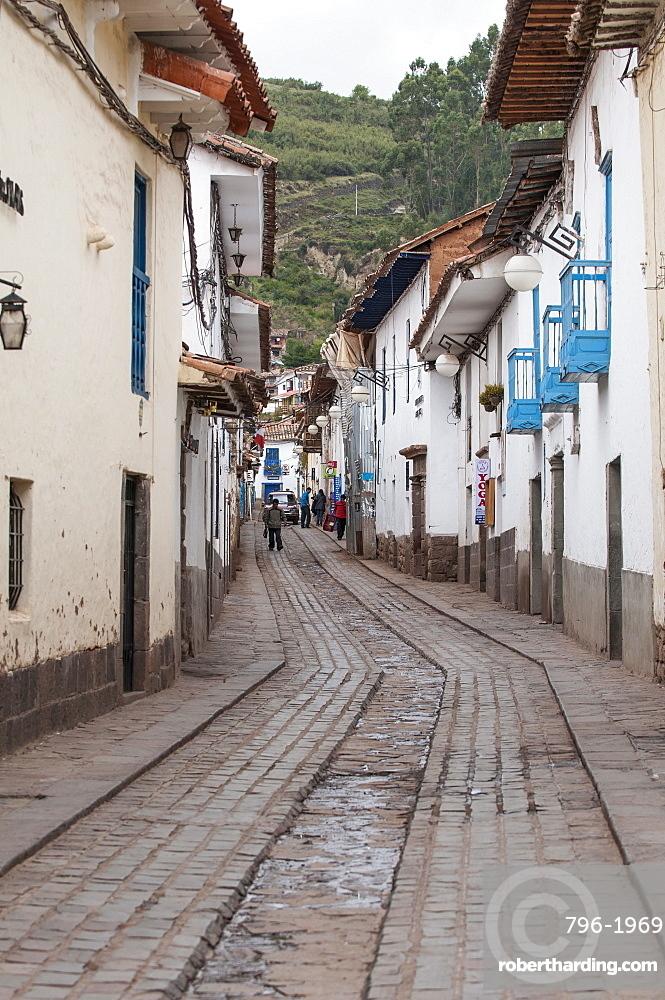 Street scene Cusco, Peru, South America