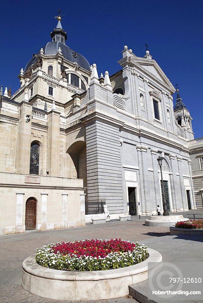 Spain, Madrid, Cathedral de la Almudena.