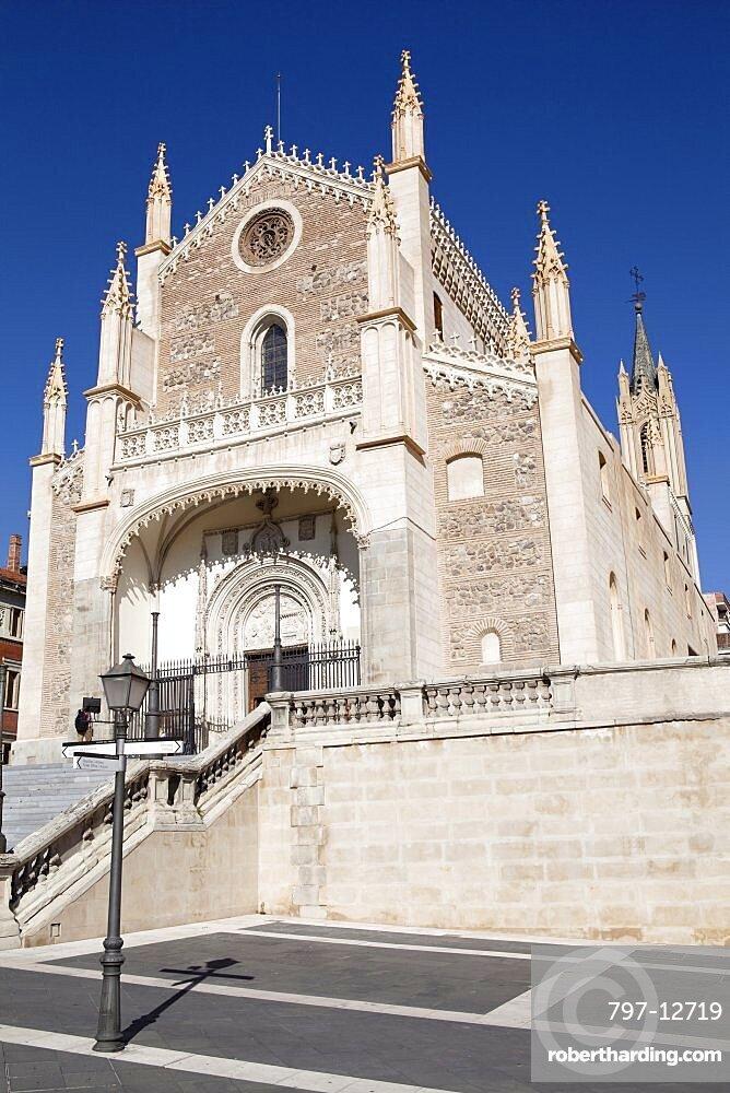 Spain, Madrid, Parroquia de Sa Jeronimo el Real, 19th Century Catholic Church of Saint Jerome.