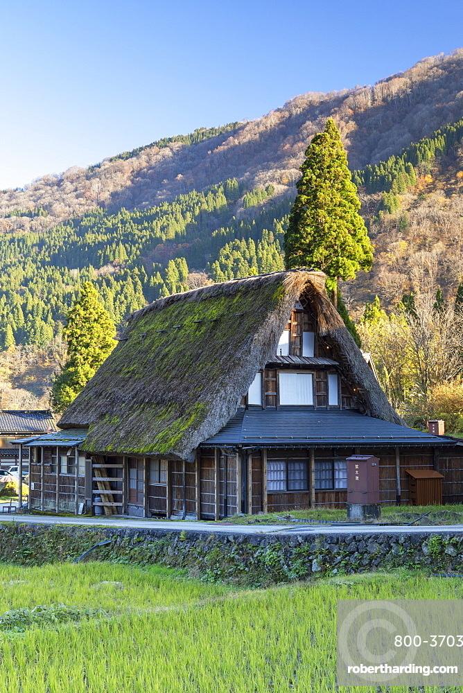 Traditional house of Ainokura (UNESCO World Heritage Site), Gokayama, Toyama Prefecture, Japan