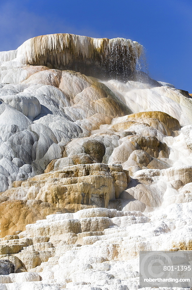 Devil's Thumb, Mammoth Hot Springs, Yellowstone National Park, UNESCO World Heritage Site, Wyoming, United States of America, North America