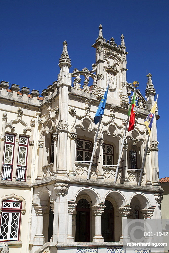 Town Hall, Sintra, UNESCO World Heritage Site, Portugal, Europe