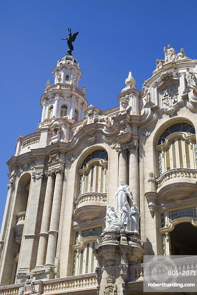 Grand Theater of Havana, Centro Habana, Havana, Cuba, West Indies, Central America