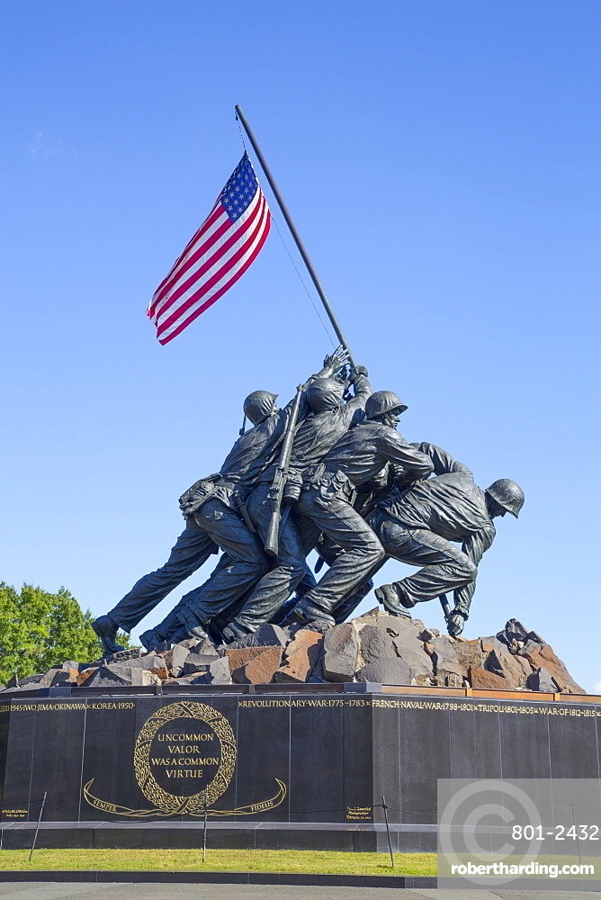 United States Marine Corps War Memorial, Washington D.C., United States of America, North America