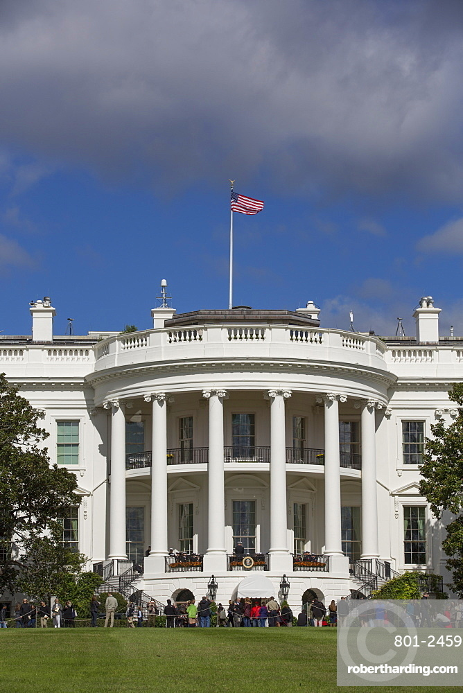 South Portico, White House, Washington D.C., United States of America, North America