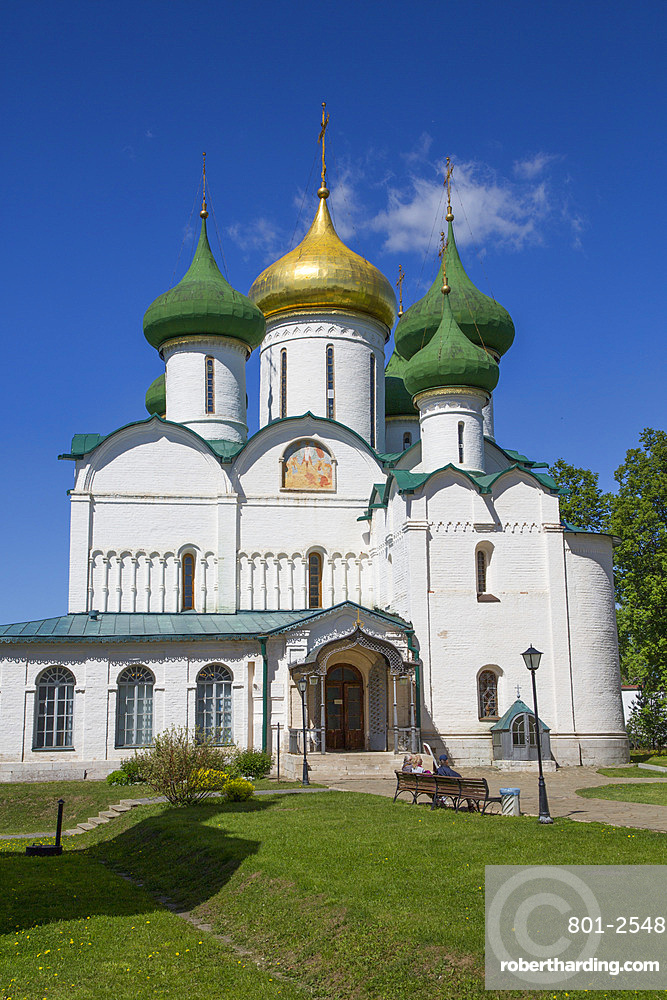 Transfiguration Cathedral, Saviour Monastery of St. Euthymius, UNESCO World Heritage Site, Suzdal, Vladimir Oblast, Russia, Europe
