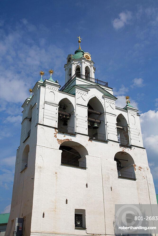 The Belfry, Spassky Monastery, UNESCO World Heritage Site, Yaroslavl, Golden Ring, Yaroslavl Oblast, Russia