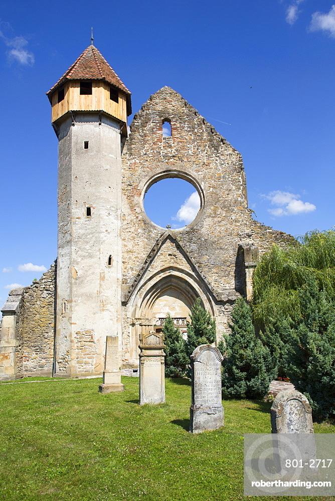 Ruins, Cistercian Monastery, Founded 1202, Carta, Sibiu County, Transylvania Region, Romania